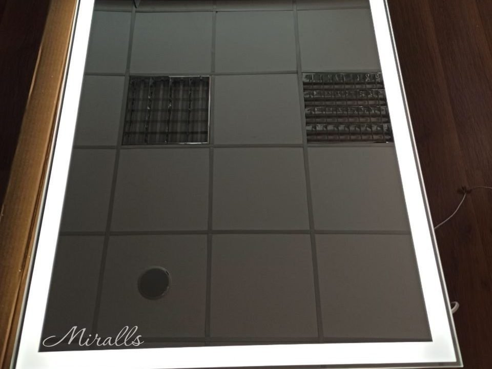 прямоугольное зеркало с подсветкой Murano Extra