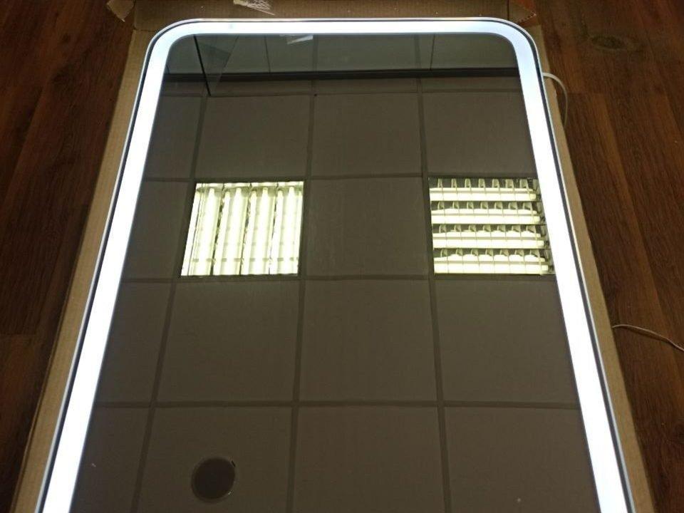 зеркало с интерьерной и фронтальной подсветкой Camelia