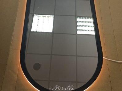 зеркало в раме с подсветкой Alba