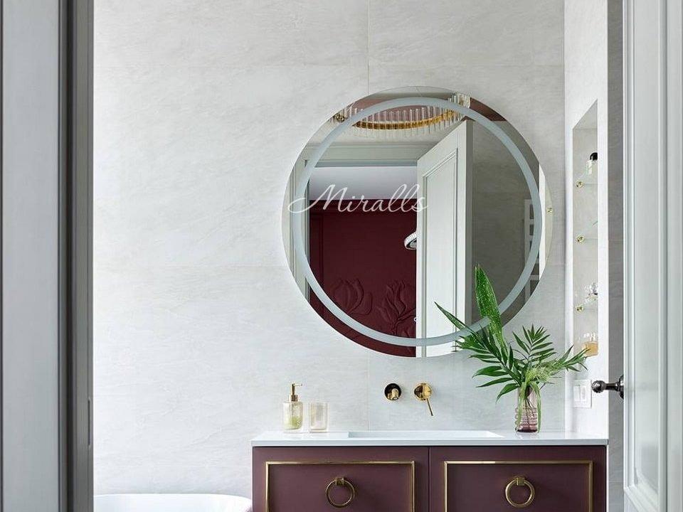 Оригинальное круглое зеркало Tube