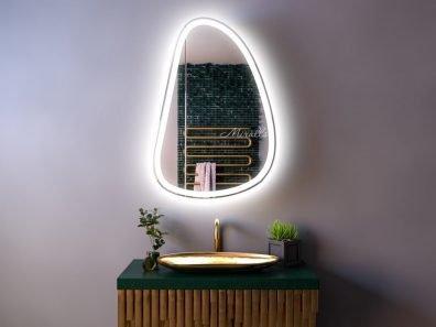 Зеркальный шкаф для ванной с подсветкой Alvaro Plus