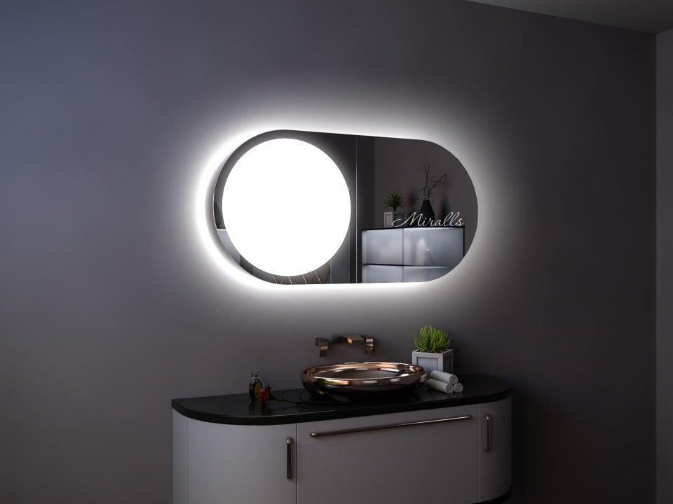 Зеркальный шкаф в ванную Variete
