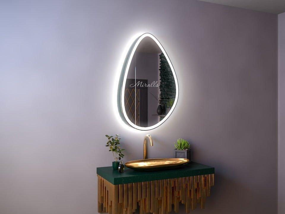 Зеркальный шкаф в ванную комнату Walter Plus