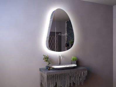 Зеркальный шкаф в ванную с подсветкой Alvaro Extra